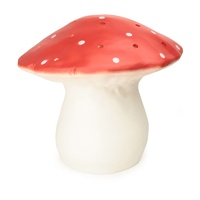 Heico Lights by Egmont Toys - Large Red Mushroom Night Light