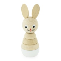 Wooden Rabbit Stacking Puzzle- Bonnie