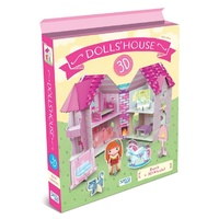 Sassi - 3D Assemble, Build and Book - Doll's House