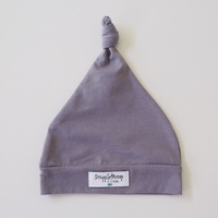Snuggle Hunny Kids - Grey Knotted Beanie