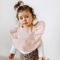 Snuggle Hunny Kids - Nude Waterproof Snuggle Bib