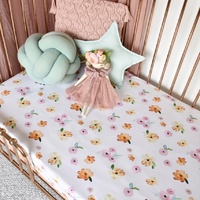 Snuggle Hunny Kids - Poppy Fitted Cot Sheet
