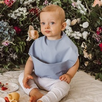Snuggle Hunny Kids - Sky Waterproof Snuggle Bib
