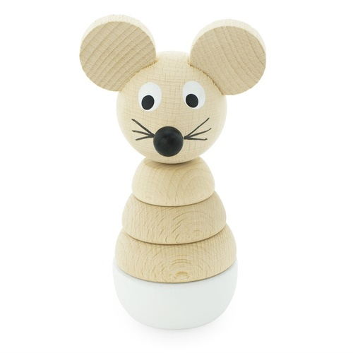 Wooden Mouse Stacking Puzzle- Hobbs