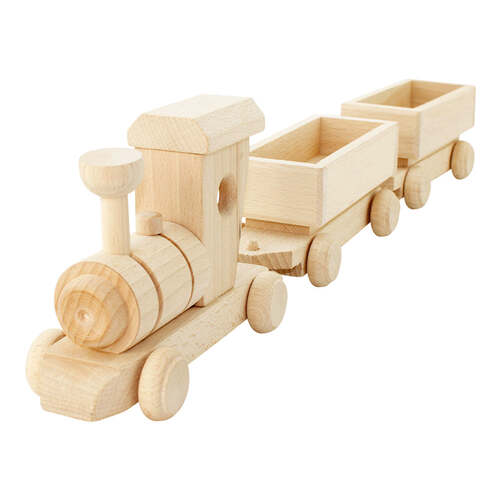 Wooden Toy Train Cargo Set - Pearl